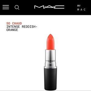 MAC So Chaud Lipstick 💄